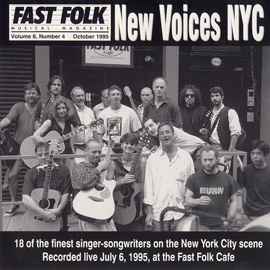 Fast Folk Musical Magazine (Vol. 8, No. 4) New Voices NYC