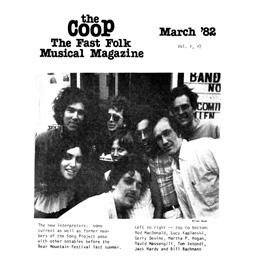 CooP - Fast Folk Musical Magazine (Vol. 1, No. 2) New Interpreters