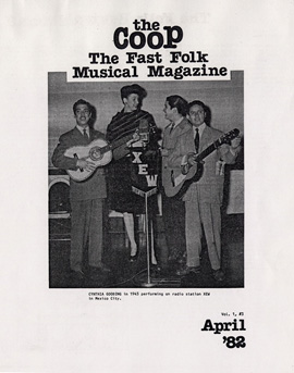 CooP - Fast Folk Musical Magazine (Vol. 1, No. 3)