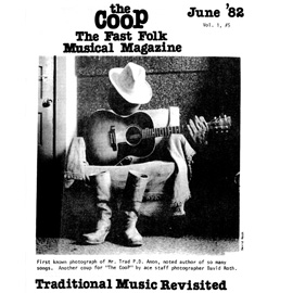 CooP - Fast Folk Musical Magazine (Vol. 1, No. 5) Traditional Music Revisited