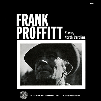 Frank Proffitt of Reese, North Carolina by Frank Proffitt