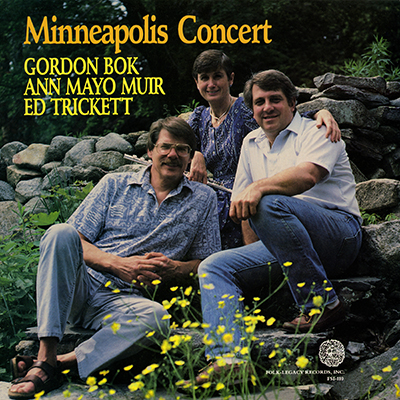 Minneapolis Concert by Bok, Muir, Trickett
