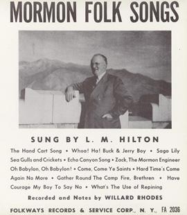 Mormon Folk Songs