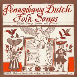 Pennsylvania Dutch Folk Songs