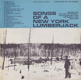 Songs of a New York Lumberjack
