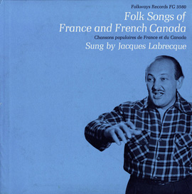Folk Songs of France and French Canada