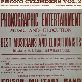 Phono-Cylinders, Vol. 2: Edited and from the Collection of George A. Blacker