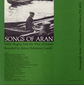 Songs of Aran album cover