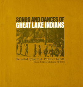 Songs and Dances of the Great Lakes Indians