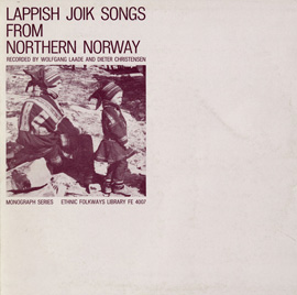 Lappish Joik Songs from Northern Norway