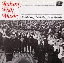 Italian Folk Music, Vol.1: Piedmont, Emelia, Lombardy