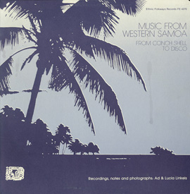 Music from Western Samoa: from Conch Shell to Disco