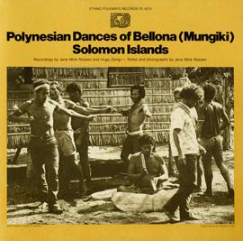 Polynesian Dances of Bellona (Mungiki), Solomon Islands