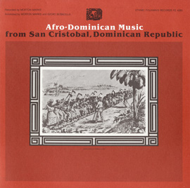 Afro-Dominican Music from San Cristobal, Dominican Republic
