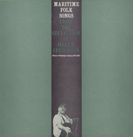 Maritime Folk Songs: from the Collection of Helen Creighton