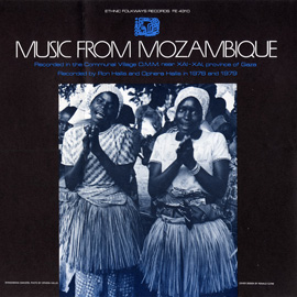 Music from Mozambique album cover