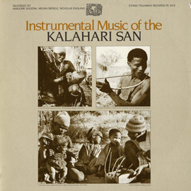 Instrumental Music of the Kalahari San