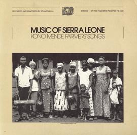 Music of Sierra Leone: Kono Mende Farmers' Songs