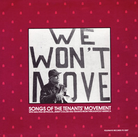 We Won't Move: Songs of the Tenants' Movement