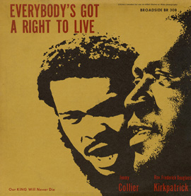 Everybody's Got a Right to Live by Jimmy Collier and Frederick Douglass Kirkpatrick
