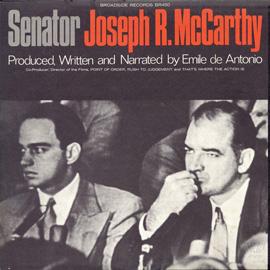 Senator Joseph R. McCarthy