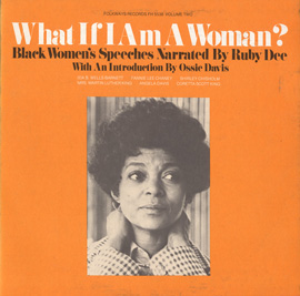 Angela Davis, I am A Black Revolutionary Woman, 1971