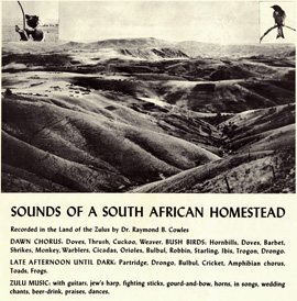 Sounds of a South African Homestead