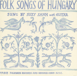 Folk Songs of Hungary