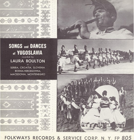 Songs and Dances of Yugoslavia