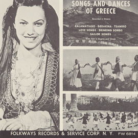 Agapisa Mia Orphani (I Have Fallen in Love with an Orphan): Dance-Song (South Greece)