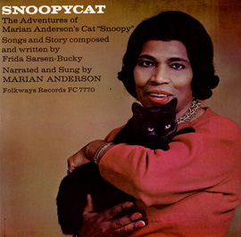 Snoopycat: The Adventures of Marian Anderson's Cat Snoopy album cover