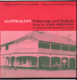 Australian Folksongs and Ballads