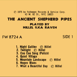 The Ancient Shepherd Pipes