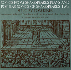 Songs from Shakespeare's Plays and Songs of His Time