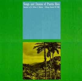 Songs and Dances of Puerto Rico