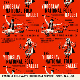 The Yugoslav National Folk Ballet (Tanec)