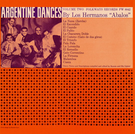 Traditional Dances of Argentina, Vol. 2