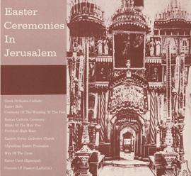 Easter Ceremonies in Jerusalem