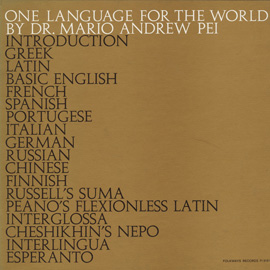 One Language for the World