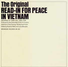 The Original Read-In for Peace in Vietnam