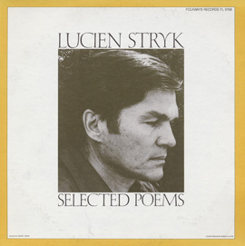 Lucien Stryk: Selected Poems