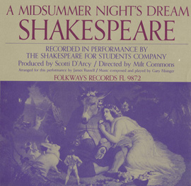 William Shakespeare: A Midsummer Night's Dream