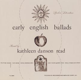 Spoken Literature of Early English Ballads: Read by Kathleen Danson Read