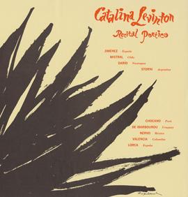 Catalina Levinton - Recital Poetico