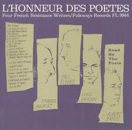 L'Honneur des Poètes: Four French Resistance Writers