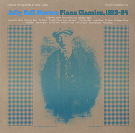 Jelly Roll Morton Piano Classics, 1923-24