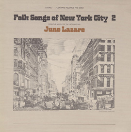 Folk Songs of New York City, Vol. 2