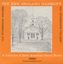 New England Harmony: A Collection of Early American Choral Music