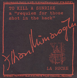 To Kill a Sunrise and La Ruche