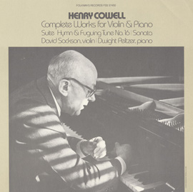 Cowell, Henry: Hymn and Fuguing Tune, No. 16: Fuguing Tune- Allegro